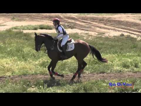 212XC Lindsey Payne On Zoe Open Novice Cross Country Copper Meadows March 2016