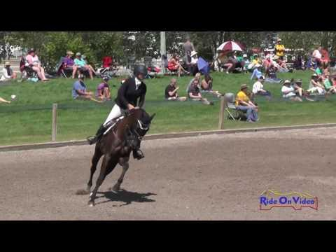 060S Katie Yozamp On Wishbone CCI2* Show Jumping Rebecca Farm July 2016