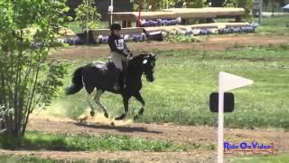 283XC Kalista Cowden on Ebony and Ivory JR Beginner Novice Cross Country Copper Meadows March 2015