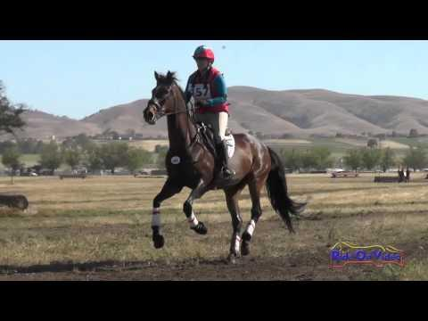 457XC Nedra Vincent On Bubbles At Bricky SR Training AM Cross Country Twin Rivers Ranch April 2016