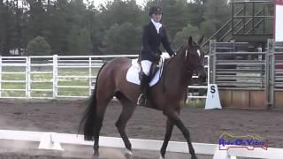160D Cassidy Wallace JR Pre-Comp Dressage Coconino HT Week 1 July 2013