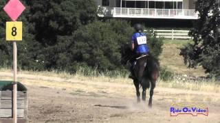 222XC Alysia Deleeuw On Freddy SR Novice Amateur Cross Country Woodside August 2015