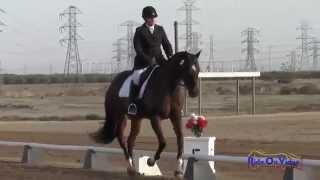 047D Tayler Ravenscroft on First Field YR Training Dressage Fresno County Horse Park Oct 2014