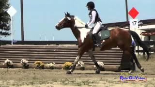 168XC Haven Prizmich on Showman Pago JR Beginner Novice Cross Country FCHP April 2015