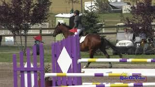 090S Sabrina Manning on The River Open Preliminary Show Jumping Rebecca Farm July 2021