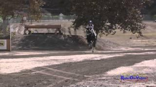 088XC Jordan Linstedt on Revitavet Capato CCI3* Cross Country Galway Downs November 2014