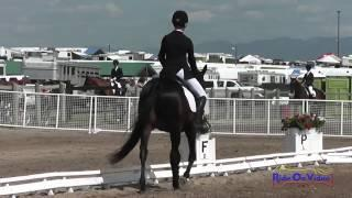 354D Lexi Lobdell On Vinny Can Go JR Training Dressage The Event At Rebecca Farm July 2015