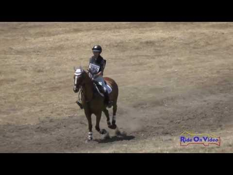 290XC Kayla Bierman On Pikture This JR Beginner Novice Cross Country Woodside August 2016