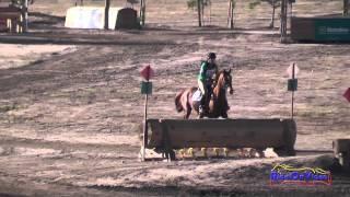 288XC Attila Rajnai on Mercury Rose Training Horse Cross Country Galway Downs Int'l Event Nov 2014