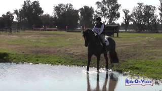 278XC Kristen Merala on Letrusco Intro Country Fresno County Horse Park Int'l HT Feb 2014