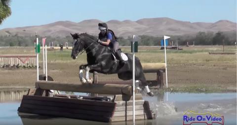 142XC Kimberly Morse Preliminary Rider Cross Country Twin Rivers Ranch April 2016