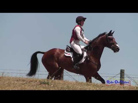 190XC Shannon McCormick On Dempsey SR Training Cross Country Shepherd Ranch June 2016