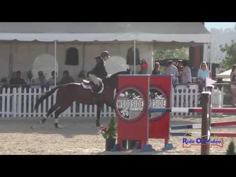 062S Madison Temkin On Dr  Hart Preliminary Challenge Rider Show Jumping Woodside May 2016