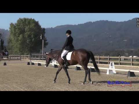 107D Olivia Byron Cooper On My Versace Preliminary Rider Dressage Woodside May 2016