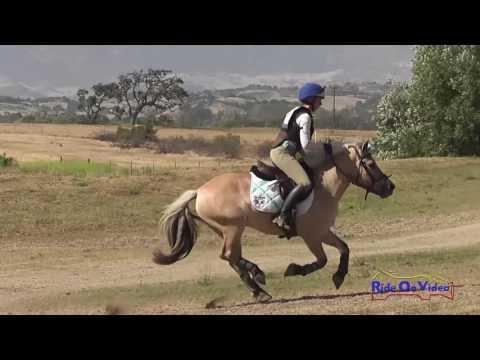 195XC Caitlin Davison On Blonde Bombshell SR Intro Cross Country Shepherd Ranch June 2016