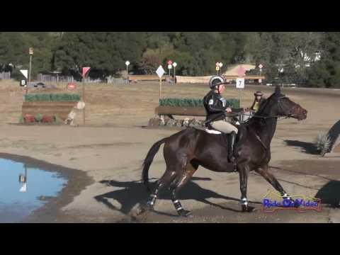 093XC Dani Sussman On Thurston B Howell Open Preliminary Cross Country Woodside October 2016