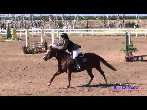 125S Jessica Kaylee Flores JR Beginner Novice Show Jumping FCHP April 2016