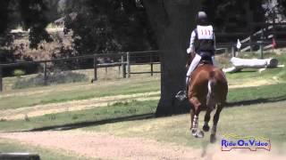 111XC Becky Leisz On Merriewold Kasey Open Training Cross Country Shepherd Ranch June 2015