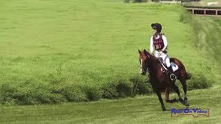 387SC Ava Holmes on Trouble With Tribute Novice 3-Day Steeplechase Rebecca Farm July 2019