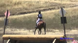 310XC Sarah Harris On Reba SR Beginner Novice Cross Country Woodside August 2015