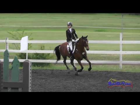 179S Lilly Linder On Pele JR/YR Novice Show Jumping Spokane Sport Horse HT May 2016