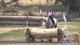 088XC Anita Parra on Sterling Senior Beginner Novice Rider Cross Country Shepherd Ranch August 2014