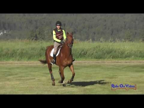 368XC Taylor Syrowy On Muddy Waters Novice 3-Day Cross Country Rebecca Farm July 2016