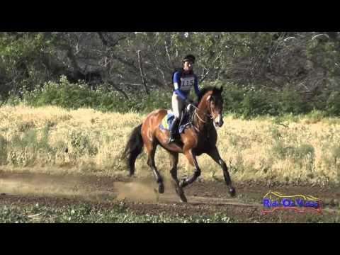 115XC Maddy Mazzola On So Cool JR/YR Open Preliminary Cross Country Twin Rivers Ranch April 2016
