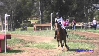 188XC Tamra Smith on Exclusive Open Novice Cross Country Copper Meadows March 2015