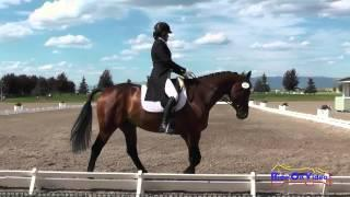 049D Ruth Bley On Rodrigue Du Granit CCI1* Dressage The Event At Rebecca Farm July 2015