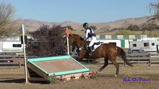 151XC Jadyn Gooch on Boolagh Brigadier JR Novice Cross Country Twin Rivers Ranch Nov. 2020