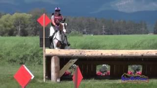 214XC Chantale Vachon on Flying Colors T3D Cross Country The Event at Rebecca Farm July 2014
