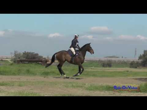 287XC Lindsey Jean On Take A Yard SR Beginner Novice Cross Country FCHP Feb. 2016