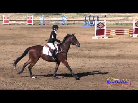 404S Makenzie McRoberts SR Beginner Novice Show Jumping Twin Rivers Ranch April 2016