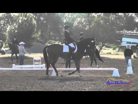 115D Maddy Mazzola On So Cool JR/YR Open Preliminary Dressage Twin Rivers Ranch April 2016