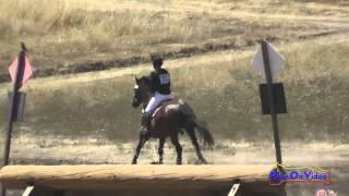 312XC Tessa Mila On Lucania SR Beginner Novice Cross Country Woodside August 2015