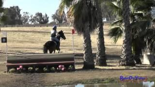045XC Madeleine Blinoff on Ranger YR Training Cross Country FCHP April 2015