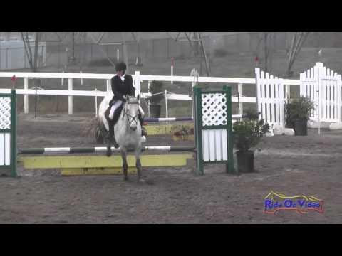 233S Lizzy Novotny On Double Platinum Intro Show Jumping FCHP November 2015
