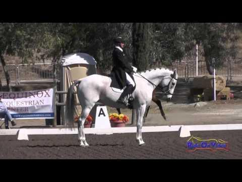 076D Summer Peterson On Jake The Fish CCI1* Dressage Galway Downs Int'l November 2015