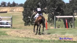 022XC Nicci Guzzetta on Queen of Spades Jr Training Cross Country Shepherd Ranch August 2014