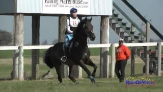 027XC Madeleine Blinoff On Ranger Training Rider Cross Country Shepherd Ranch August 2015