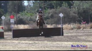 117XC Molly Malinovsky on Sir Aidan YR Novice Cross Country FCHP April 2015