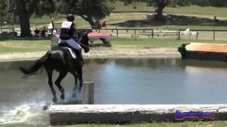 137XC Lauren Rath On Syntax SR Training Cross Country Shepherd Ranch June 2015