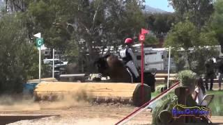 070XC Tamra Smith on Sunsprite Syrius State Farm CIC1* Cross Country Copper Meadows September 2014
