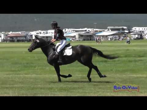 624XC Morgan Kelly On Cricketeer SR Open Novice Cross Country Rebecca Farm July 2016