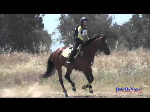 078XC Rachael Miller On Zinderella JR Novice Cross Country FCHP April 2016