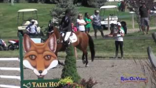 713S Isabella Dowen on Lasse 73 NAJYRC CCI1* Show Jumping Rebecca Farm July 2017