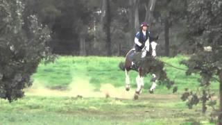 Karen on Ranger Copper Meadows Schooling Show February 2015