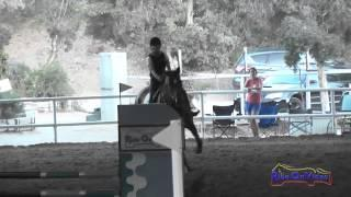 079J1 Michelle Capparelli Training Jumping Pacific Indoor Eventing October 2014