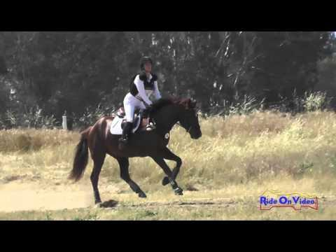 065XC Victoria Klein On Valdess Des Loges Open Training Cross Country FCHP April 2016